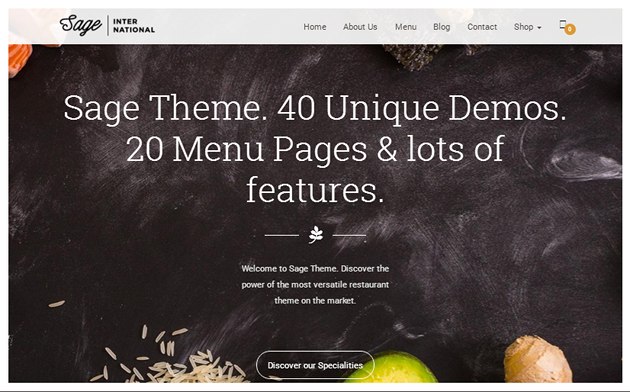 Sage WordPress Theme