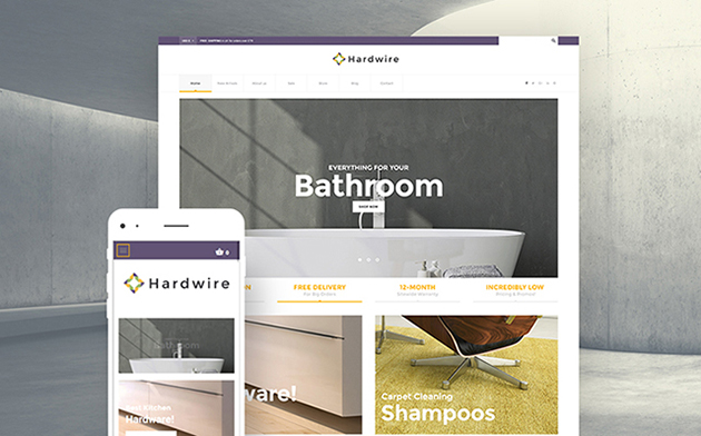 Home Goods Store WooCommerce Theme