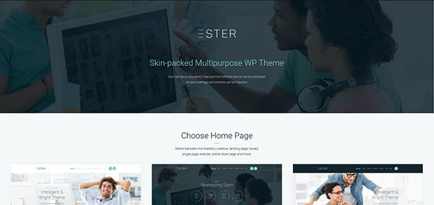 Ester - Multipurpose WordPress Theme