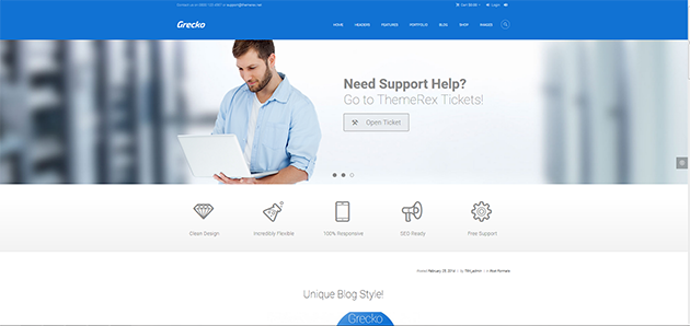 Grecko - Multipurpose WordPress Theme