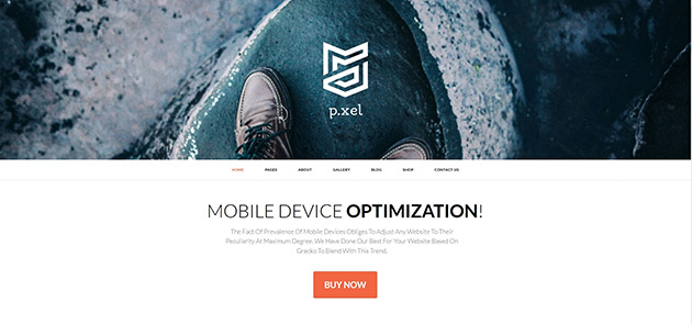 Pixel - Multipurpose WordPress Theme
