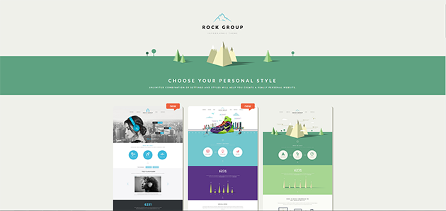 Rock Group - Multipurpose Infographic Theme