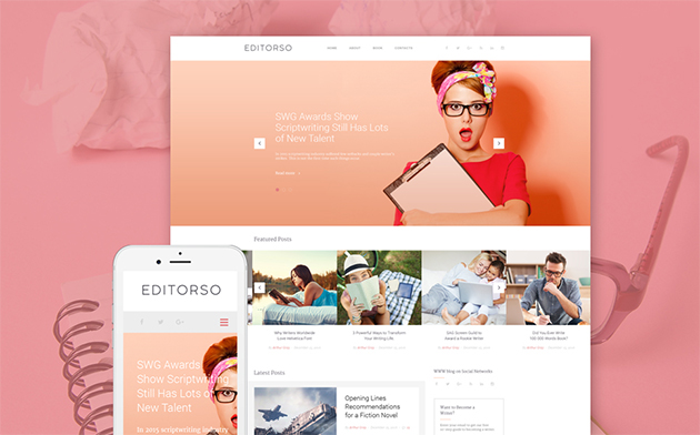 er WordPress Template