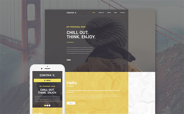 Page WP Theme