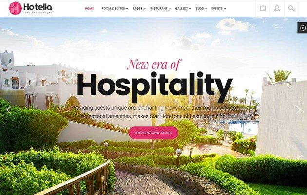 wordpress hotel themes with reservation engine