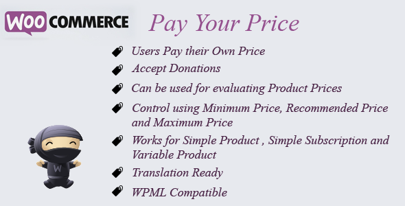 WooCommerce Recover Abandoned Cart - WooCommerce Pay Your Price