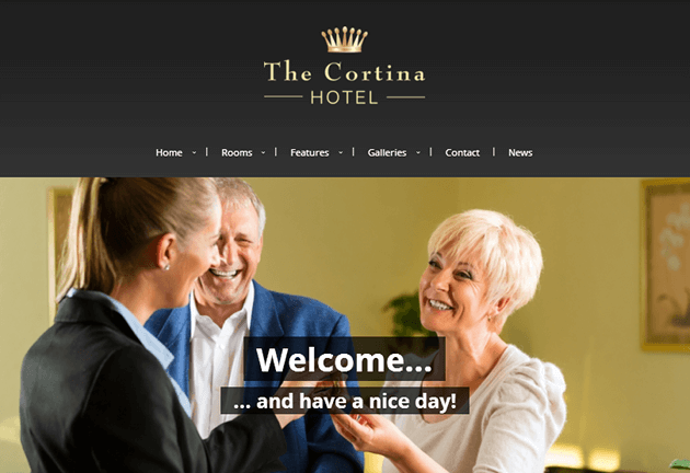 Cortina WordPress Theme