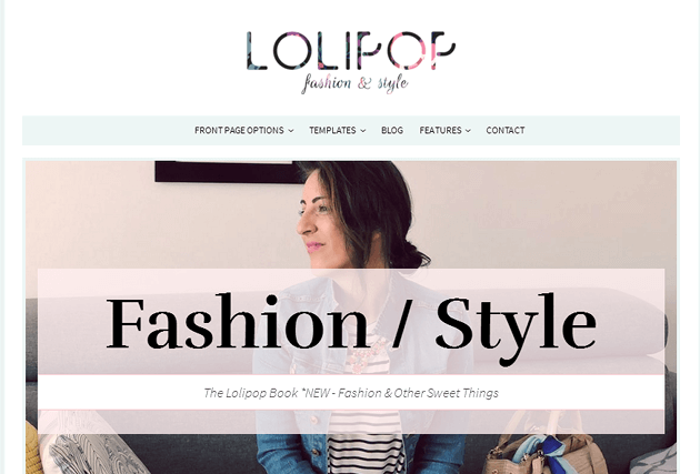 Lolipop WordPress Theme
