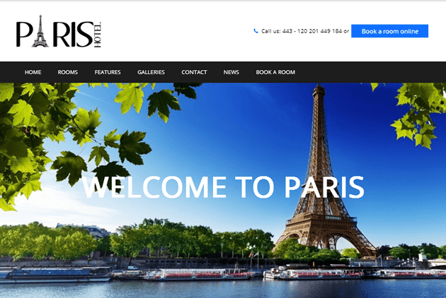 Paris WordPress Theme