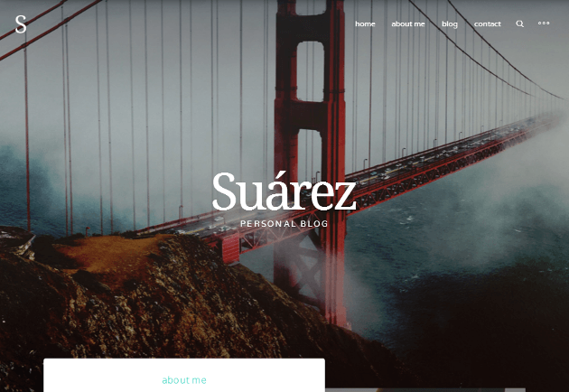Suarez WordPress Theme