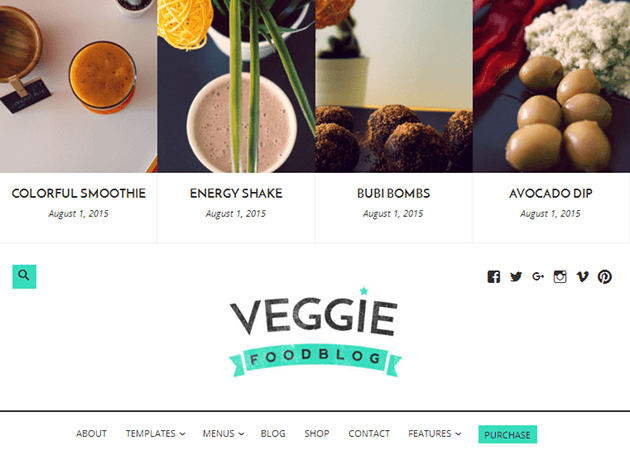 Veggie WordPress Theme