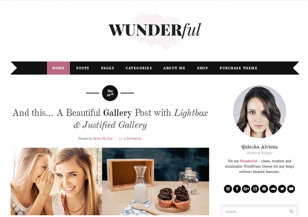 Wunderful WordPress Theme