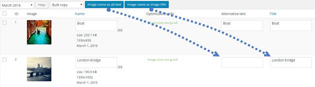 WP Meta SEO - Bulk Image Editing