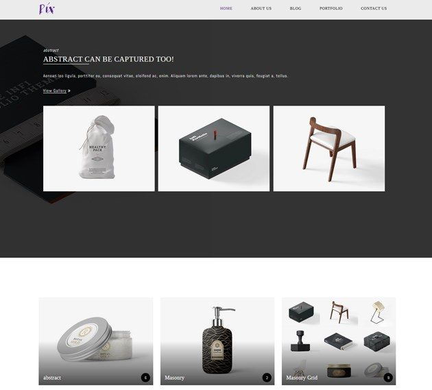 wordpress photography wordpress theme