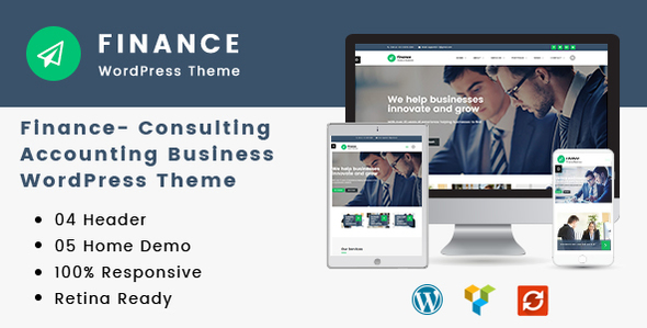 20 premium business and consulting agency wordpress themes finance consulting accounting wordpress theme friedricerecipe Image collections