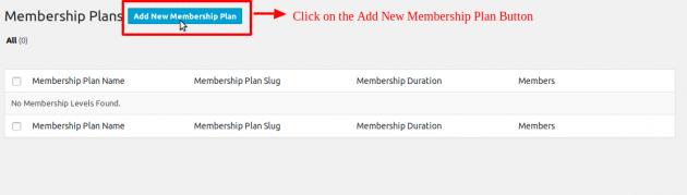 SUMO Memberships - Plan Creation