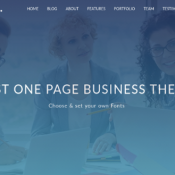 Compact One Reviewed - A popular Free One Page WordPress Theme
