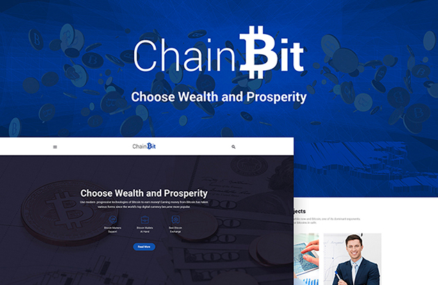 ChainBit - Bitcoin WordPress Theme