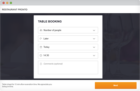 wordpress restaurant reservation plugin