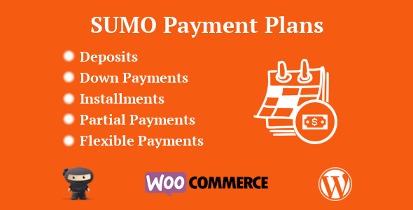 SUMO WooCommerce Deposits Payment Plans Plugin