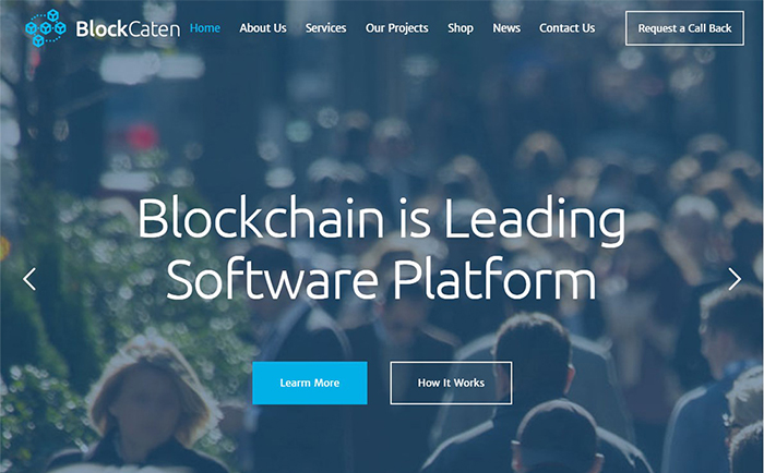 Blockcaten Crypto Currency & Consulting WordPress Theme