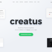 Introducing the Creatus WordPress Theme