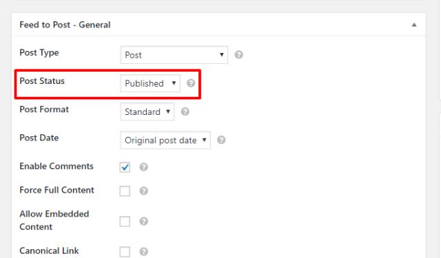 auto publish