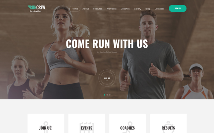 RunCrew | Running Club, Marathon & Sports WordPress Theme