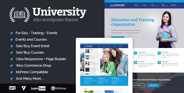 University-learndash-theme