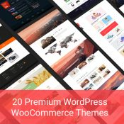 20 Premium WordPress WooCommerce Themes for Profitable eCommerce Projects