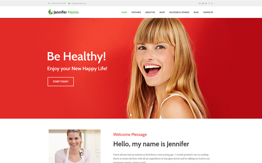 Health Coach Blog & Lifestyle Magazine WordPress Theme