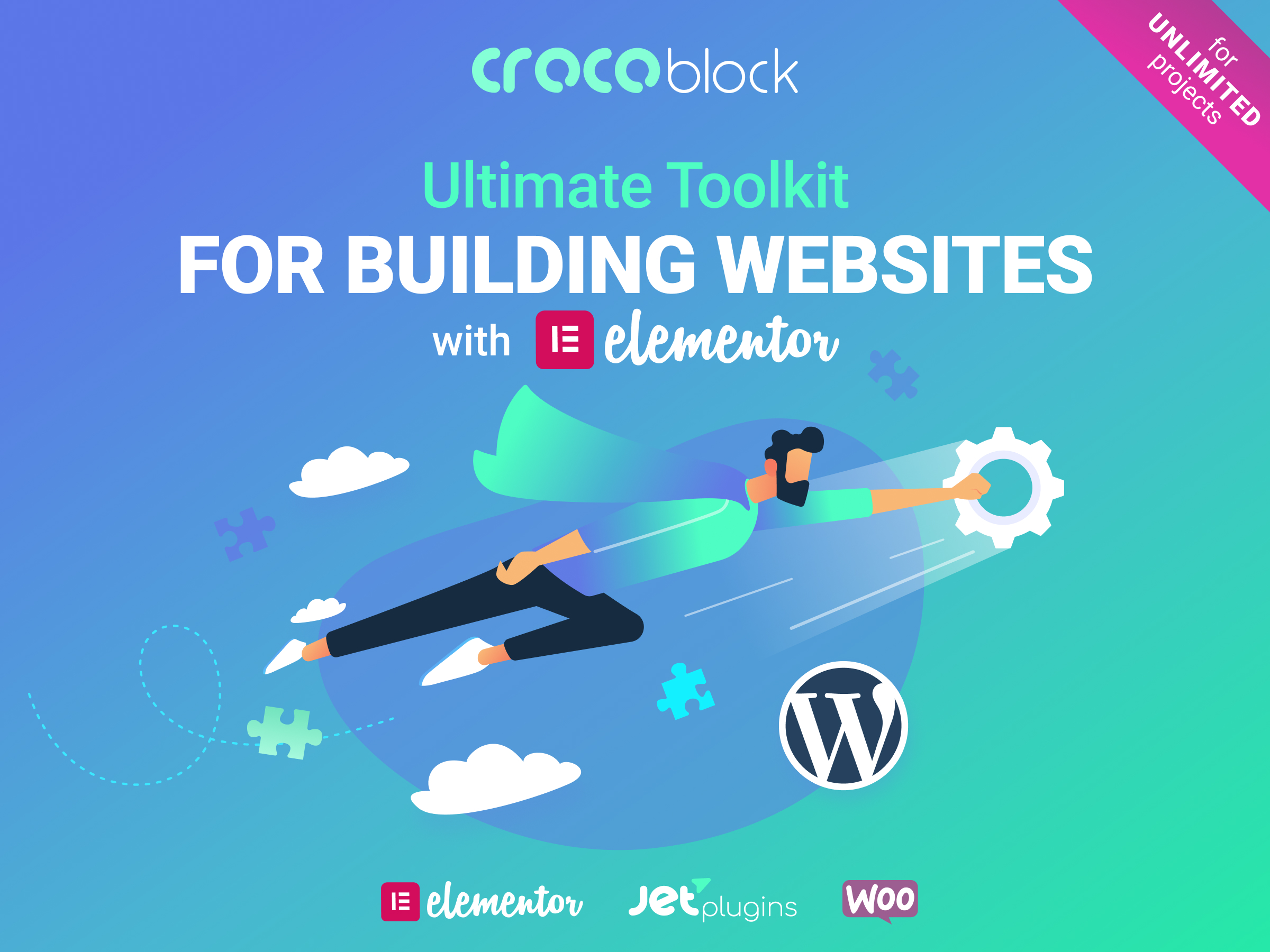 The Crocoblock Elementor Add-ons collection.