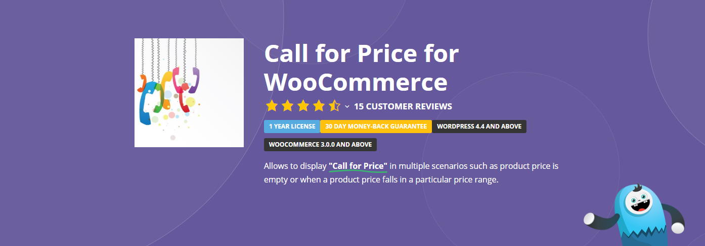 The Call for Price for WooCommerce plugin.