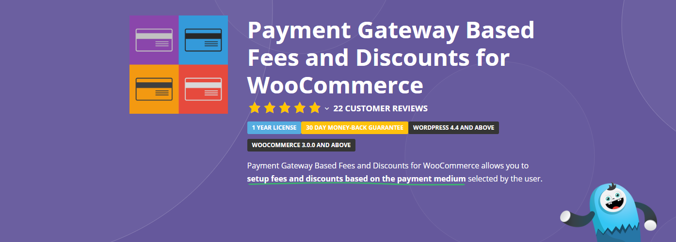 The Payment Gateway Based Fees and Discounts for WooCommerce plugin.