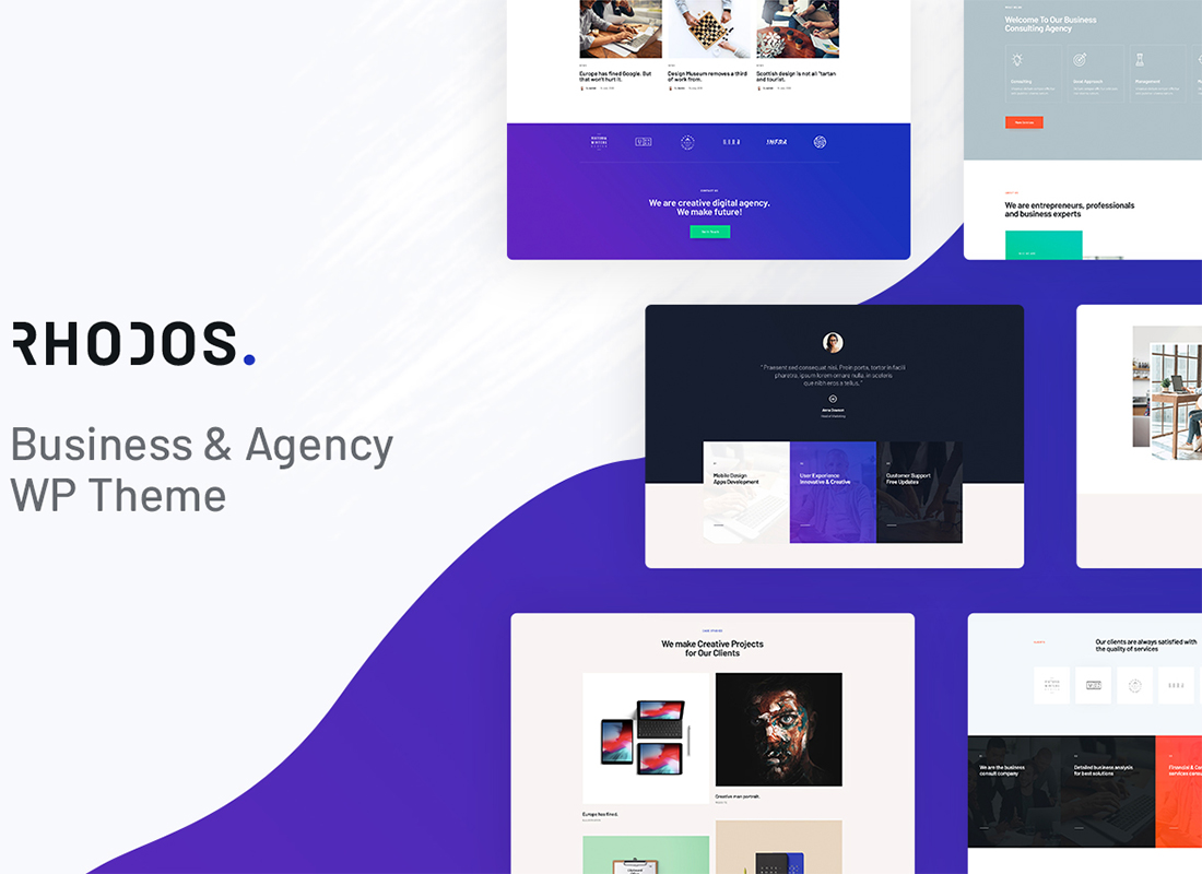 Rhodos - A Colossal Multipurpose WordPress Theme for Business & Portfolio