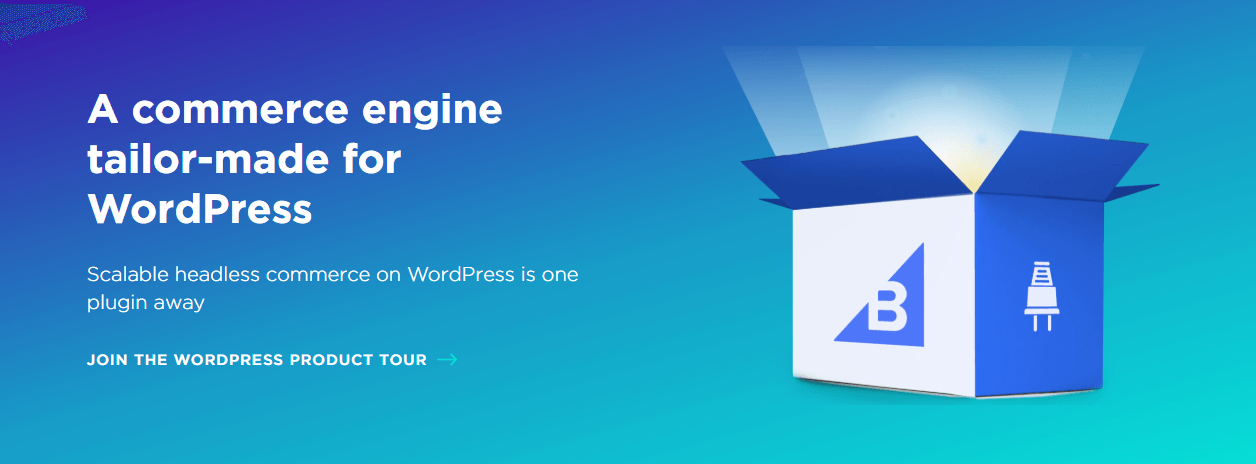 The BigCommerce WordPress plugin.