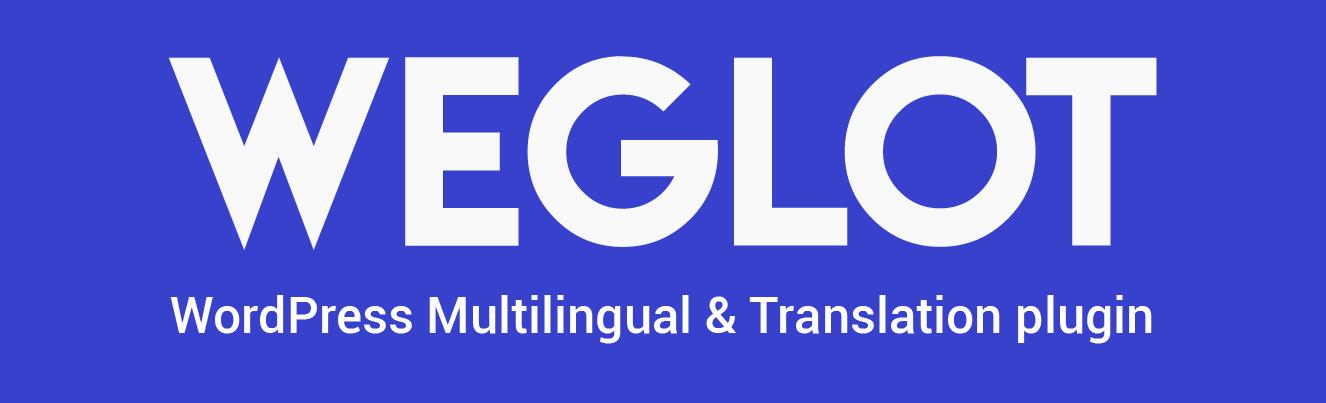 The Weglot translation plugin.