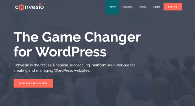 Convesio - The Game Changer for WordPress
