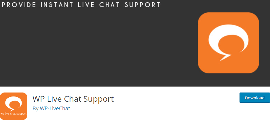 The WP Live Chat plugin.