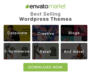 Envato Market Best Selling WordPress Themes