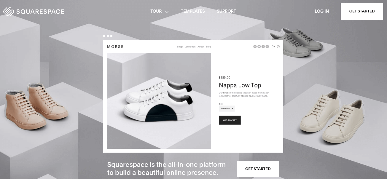 Squarespace Site Builders
