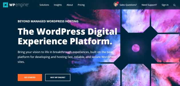 Managed WordPress Hosting Compared wp engine