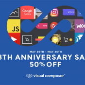 Visual Composer is Celebrating Its 8th Birthday