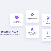 Essential Addons: Most Popular Elementor Addons With 60+ Advanced Widgets