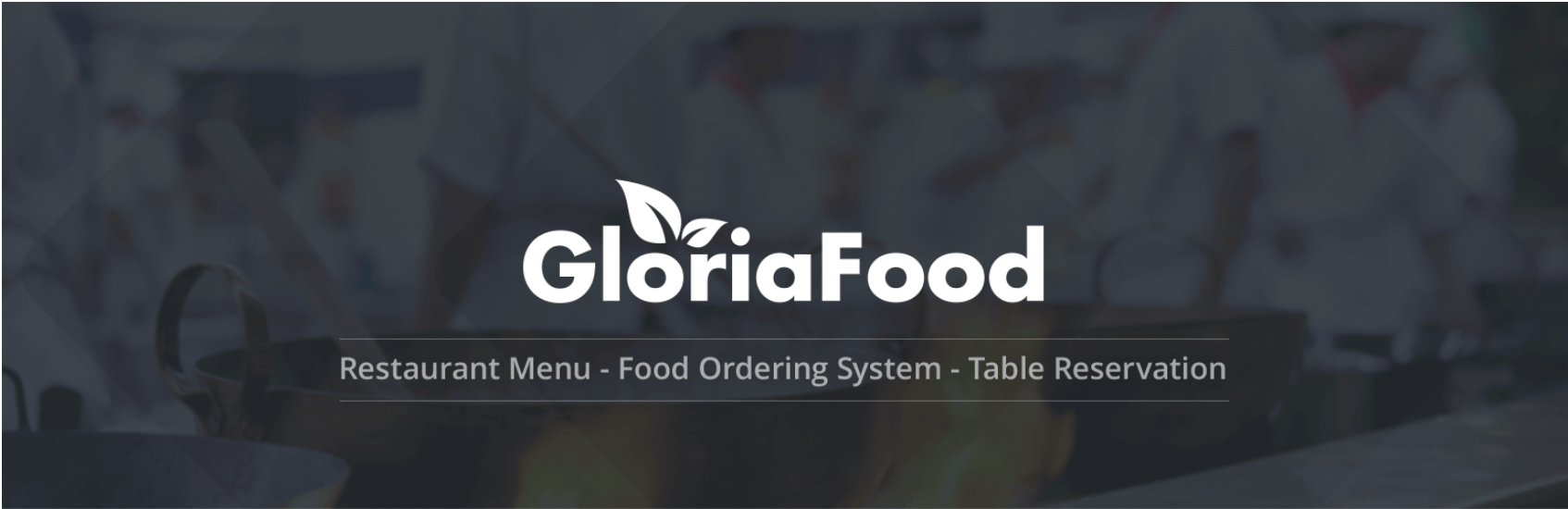 The GloriaFood plugin for WordPress.