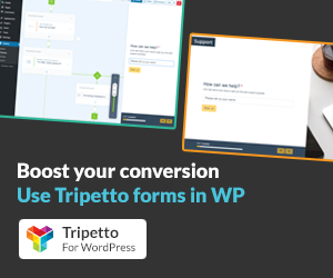 Tripetto Forms for WordPress
