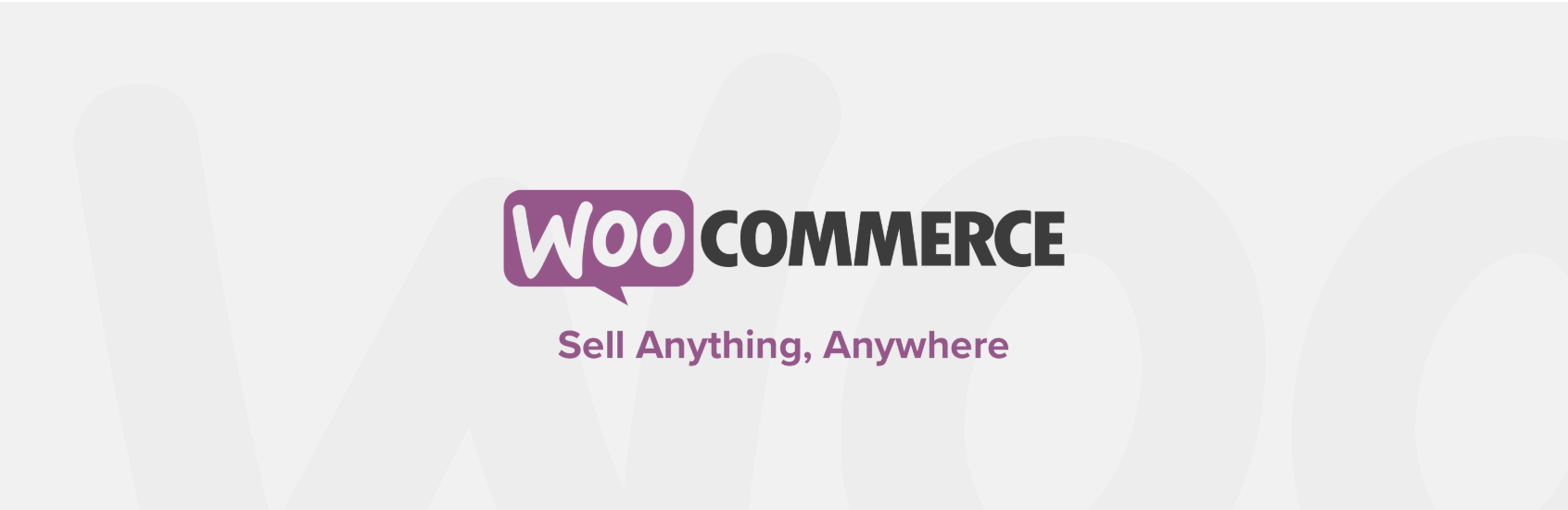 The WooCommerce plugin for WordPress.