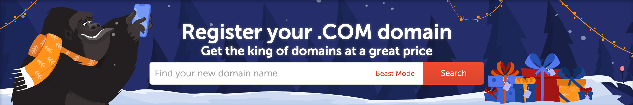 .com domain registration with NameCheap.