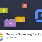 Getwid Review: 40+ Free Blocks for the WordPress Editor