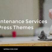 10 Maintenance Services WordPress Themes